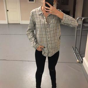 Caslon Plaid Button up Shirt